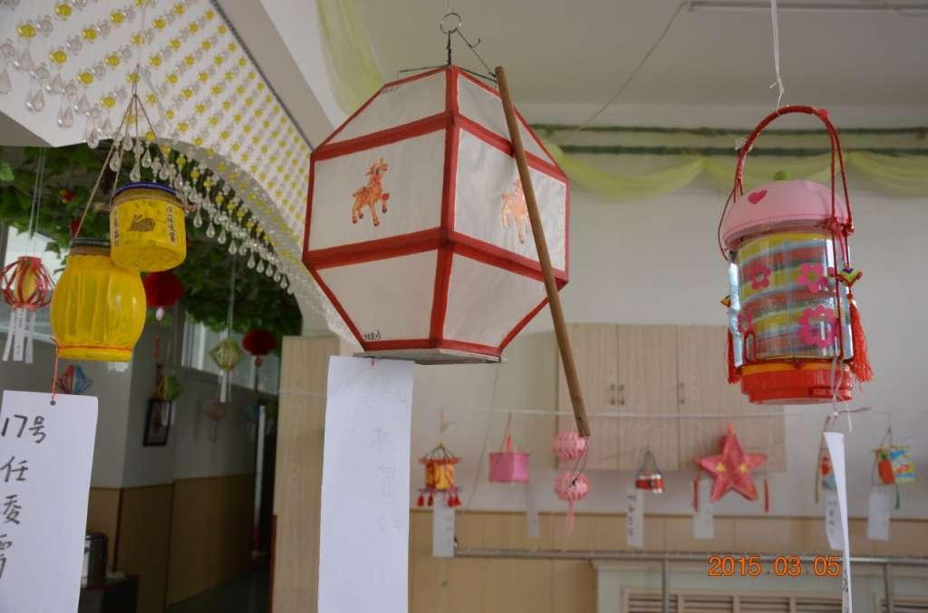 2015年小博士幼儿园手工灯笼制作大赛